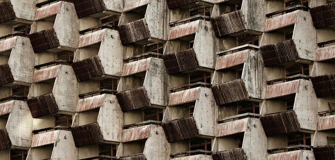Opuszczony hotel Amanauz