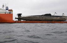 Okręty podwodne typu Victor III w drodze do stoczni złomowej