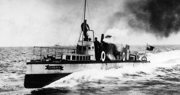 Turbinia - pierwszy statek z turbiną parową