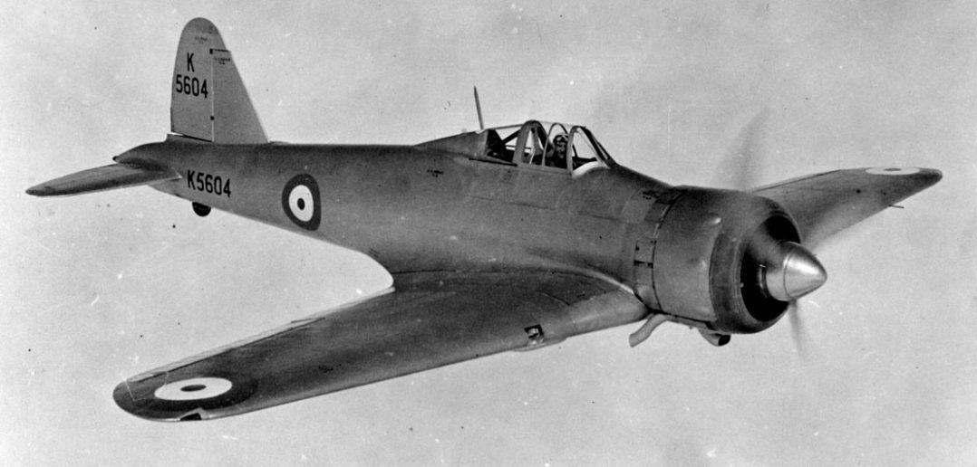 Gloster F.5/34 - zapomniany pierwszy jednopłatowiec Glostera