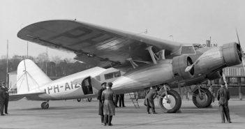 Zapomniany Fokker F.XX Zilvermeeuw