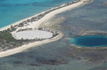 Cactus Dome - radioaktywny grobowiec na atolu Enewetak