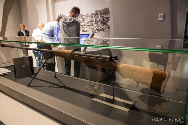 Polski karabin przeciwpancerny wz. 35 Ur w Muzeum II Wojny Światowej w Gdańsku (fot. Michał Banach)
