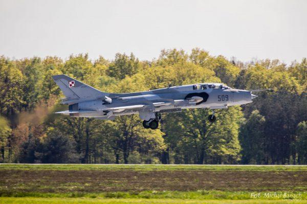 Su-22UM3K (fot. Michał Banach)