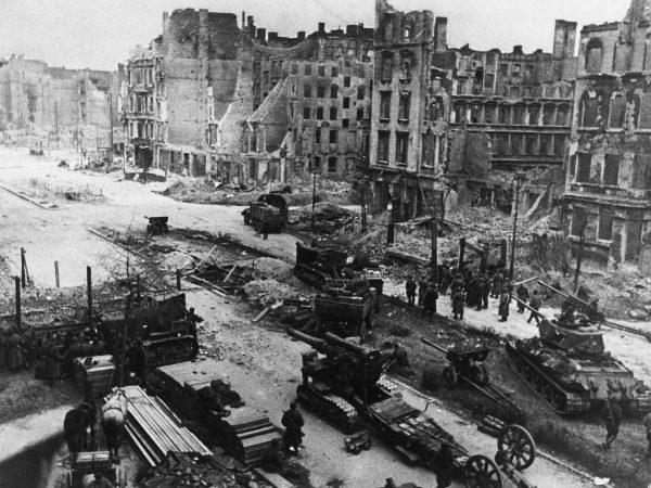 Radzieckie wojska w Berlinie