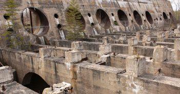 Old Pinawa Dam - opuszczona zapora wodna w Kanadzie