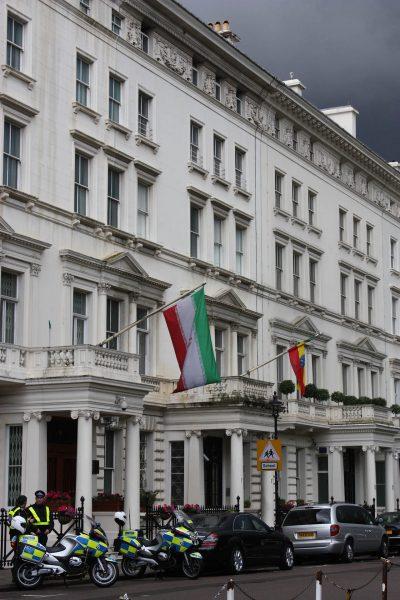 Irańska ambasada w Londynie