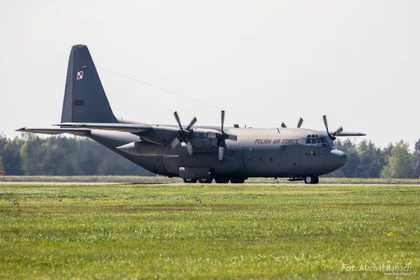 Lockheed C-130 Hercules (fot. Michał Banach)