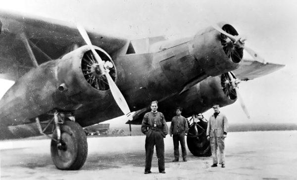 Fokker F.XX Zilvermeeuw w Hiszpanii