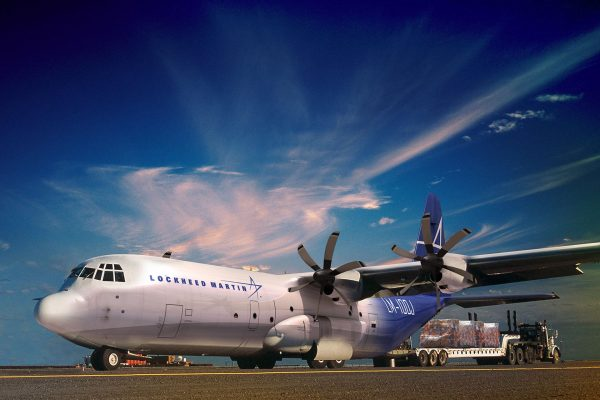 Lockheed LM-100J Super Hercules - wizualizacja (fot. Lockheed Martin)