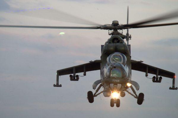 Mi-24 (fot. Łukasz Kuliberda)