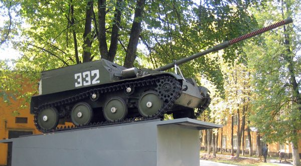 ASU-57 (fot. Wikimedia Commons)