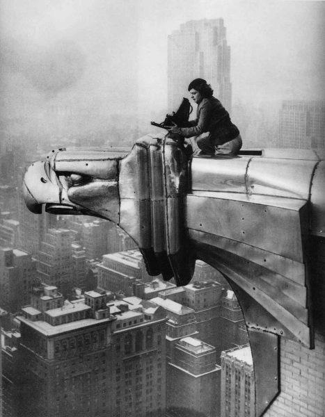 Margaret Bourke-White robiąca zdjęcie Nowego Jorku