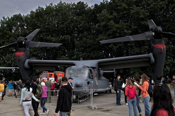 V-22 Osprey (fot. Łukasz Kuliberda)