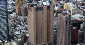 Long Lines Building - 33 Thomas Street - niesamowity wieżowiec na Manhattanie