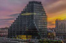 Budowa wieżowca Bałtyk w Poznaniu - timelapse