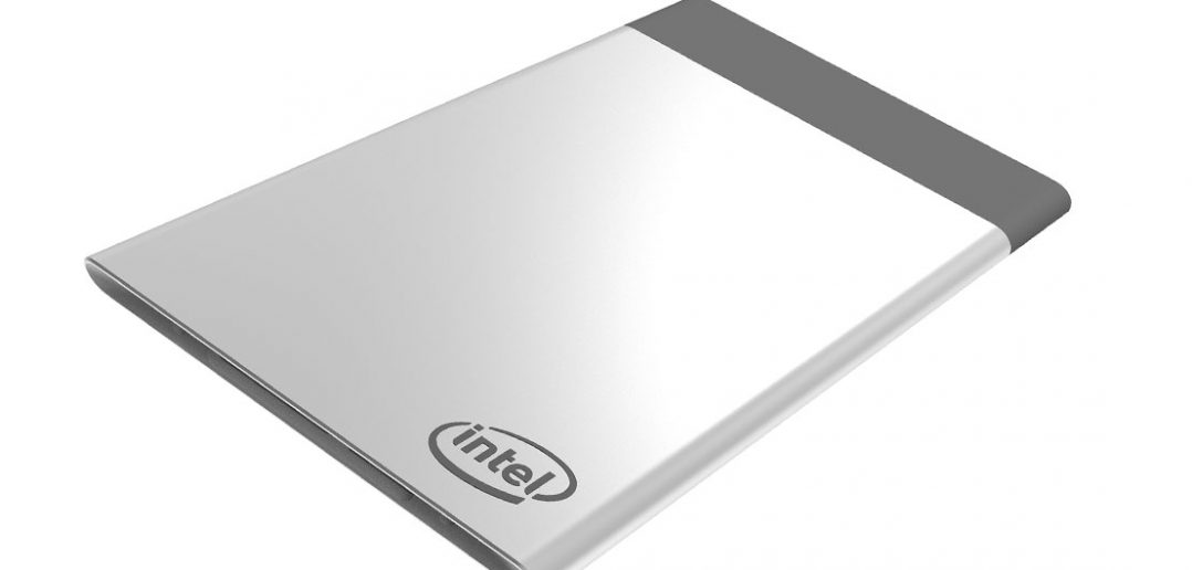 Intel Compute Card - komputer wielkości karty kredytowej