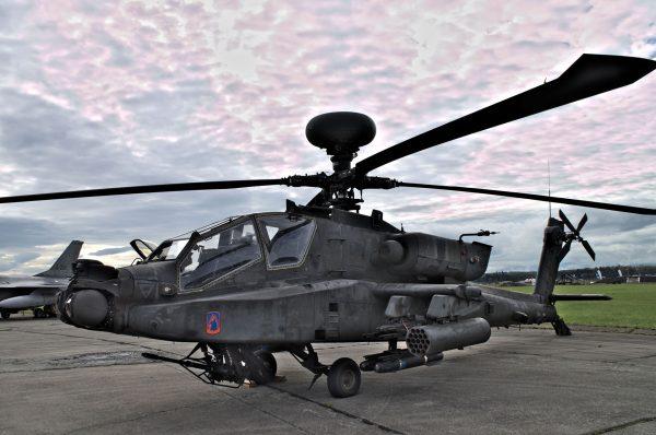 AH-64 Apache (fot. Łukasz Kuliberda)