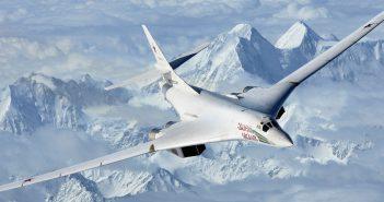 Tupolew Tu-160 - radziecki naddźwiękowy bombowiec strategiczny