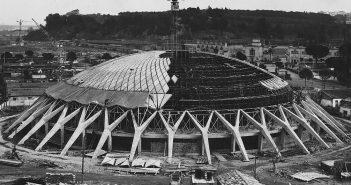 Palazzetto dello Sport - niesamowita arena w Rzymie