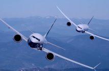 Wspólny lot Boeinga 787-10 Dreamliner i 737 MAX 9 - film