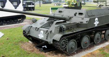 ASU-57 - niszczyciel czołgów dla oddziałów powietrznodesantowych