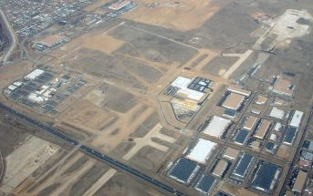 Opuszczone lotnisko Stapleton International Airport