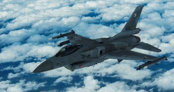 Polskie i amerykańskie samoloty nad Łotwą - galeria
