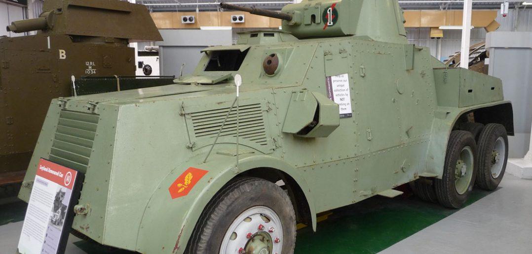 Irlandzki samochód pancerny Leyland Armoured Car