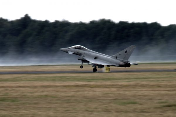 Eurofighter Typhoon (fot. Łukasz Kuliberda)
