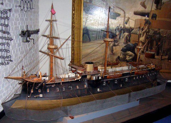 Model fregaty pancernej Trident