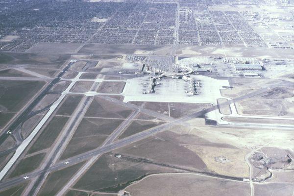 Stapleton International Airport w 1966 roku