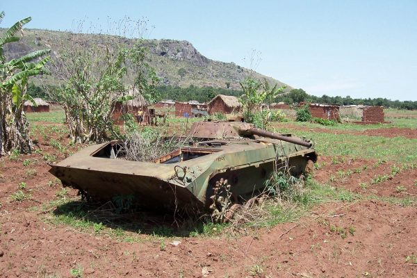 Wraki BMP-1 w Angoli