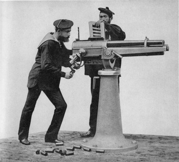 Hotchkiss M1873 kalibru 37 mm