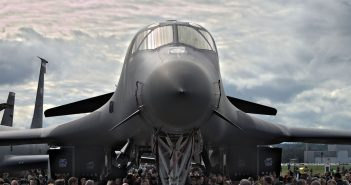 B-1B Lancer (fot. Łukasz Kuliberda)