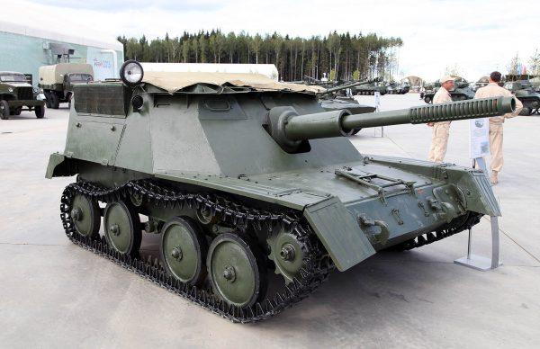 ASU-76 (fot. Vitaly V. Kuzmin)