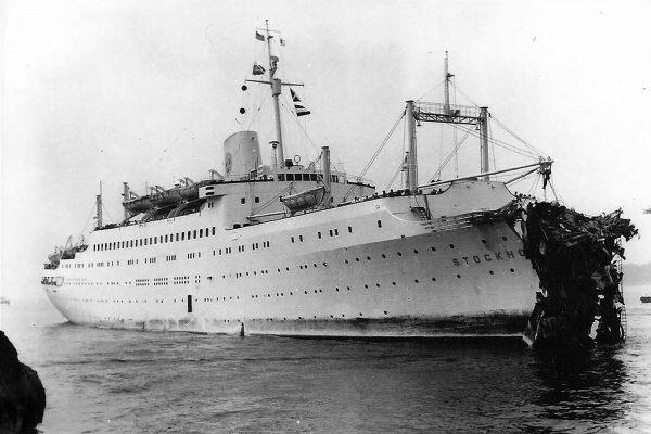 MS Stockholm uszkodzony po zderzeniu z Andrea Dorią