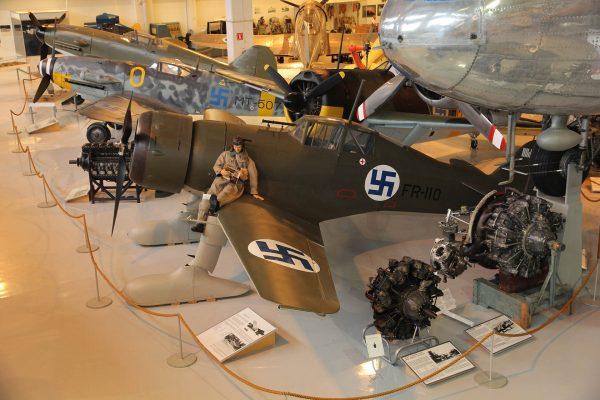 Fiński Fokker D.XXI współcześnie (fot. Wikimedia Commons)