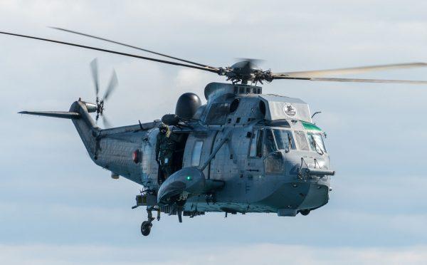 Kanadyjski SH-3 Sea King (fot. FRAN CPO Christian Valverde)