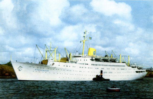 MS Stockholm po pierwszej przebudowie
