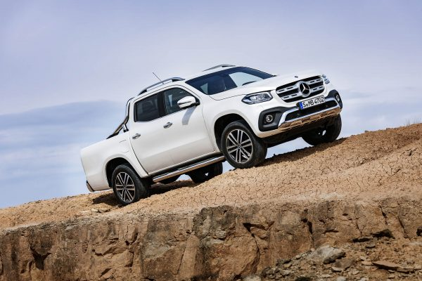 Mercedes-Benz X-Class Power (fot. Daimler AG)