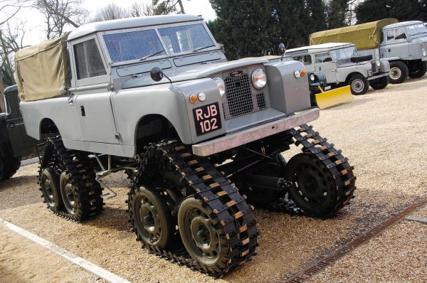 Cuthbertson Land Rover