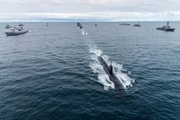 Okręt podwodny USS Toledo (fot. FRAN CPO Christian Valverde)