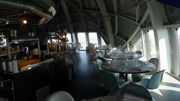 Wnętrze Atomium