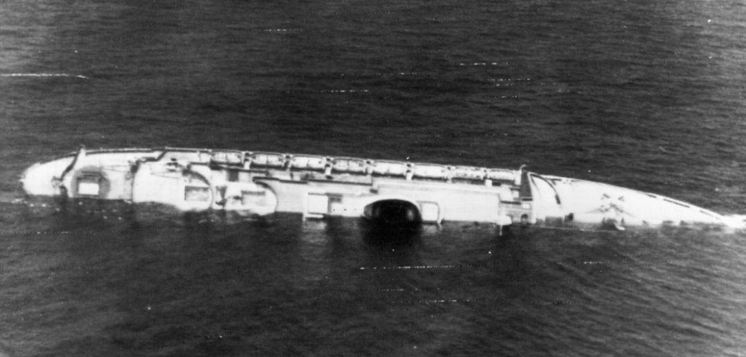 Zatonięcie liniowca SS Andrea Doria