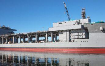 USNS Lewis B. Puller - pływająca baza