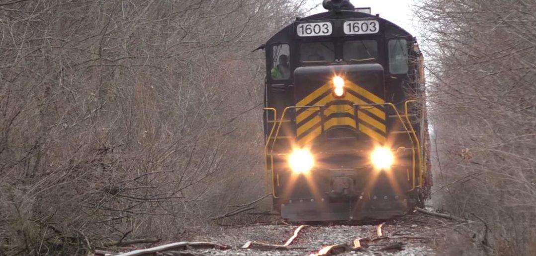 Najbardziej krzywe tory kolejowe? - film