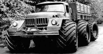 ZiŁ-132 - radziecki prototypowy pojazd terenowy