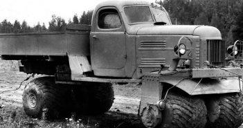 Nietypowa radziecka ciężarówka ZiŁ-132S