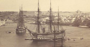 Parowy okręt liniowy HMS Marlborough